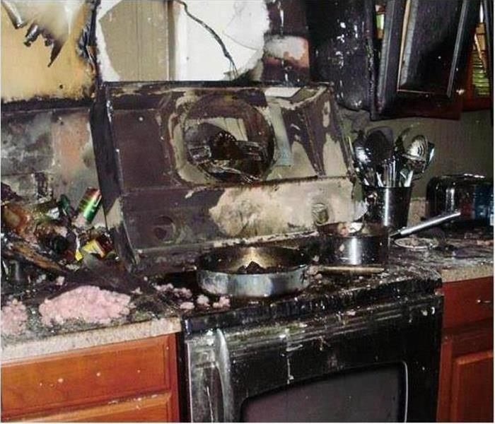 Fire Damage – Montgomery Kitchen
