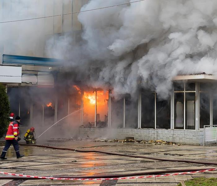 Commercial Commercial Fire Damage Restoration Services