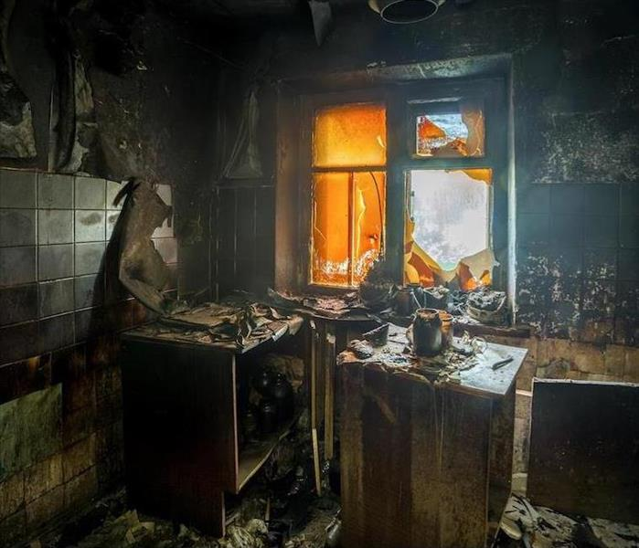 Fire Damage Get Rid of Soot and Fire Damage in a Ridgefield Kitchen Once and for All